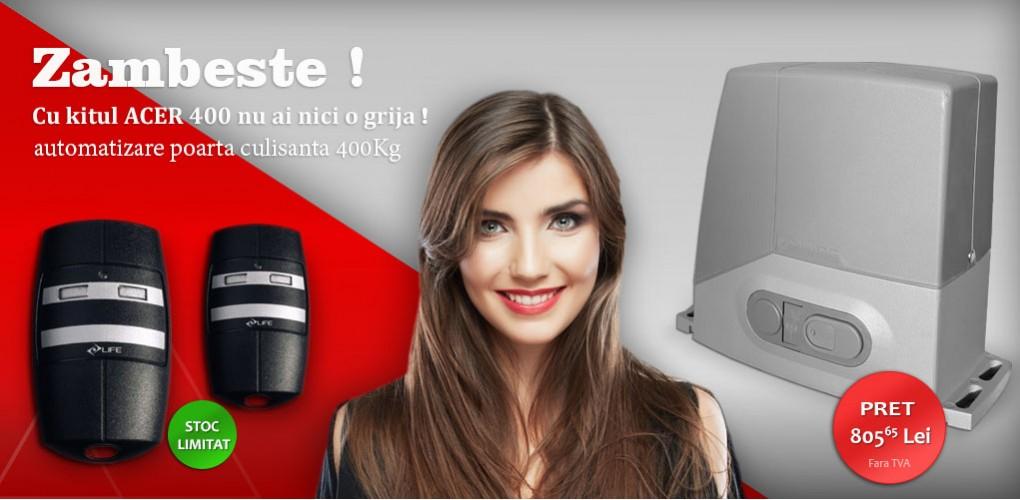 Easy kit automatizare Life poarta culisanta ACER 400