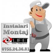 Instalare fotocelule Life